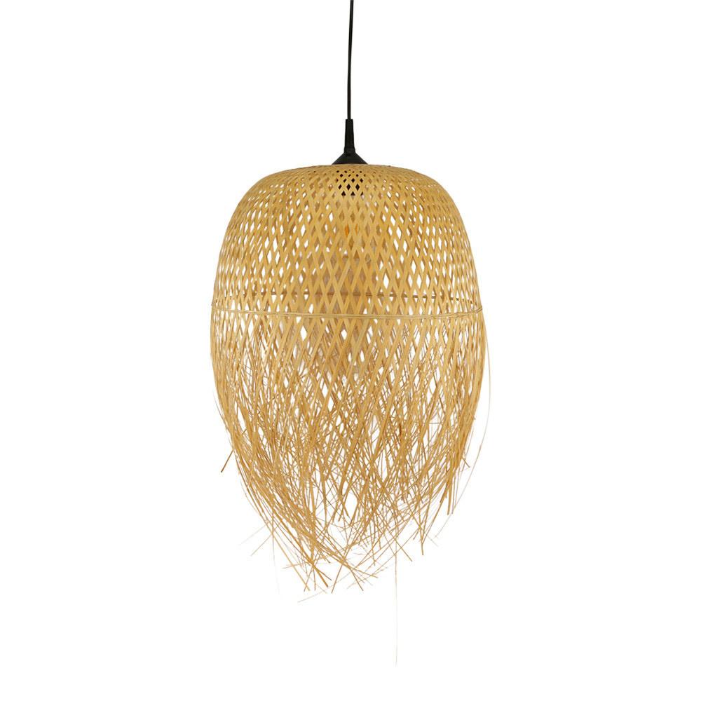 Bamboe lamp Bintan M