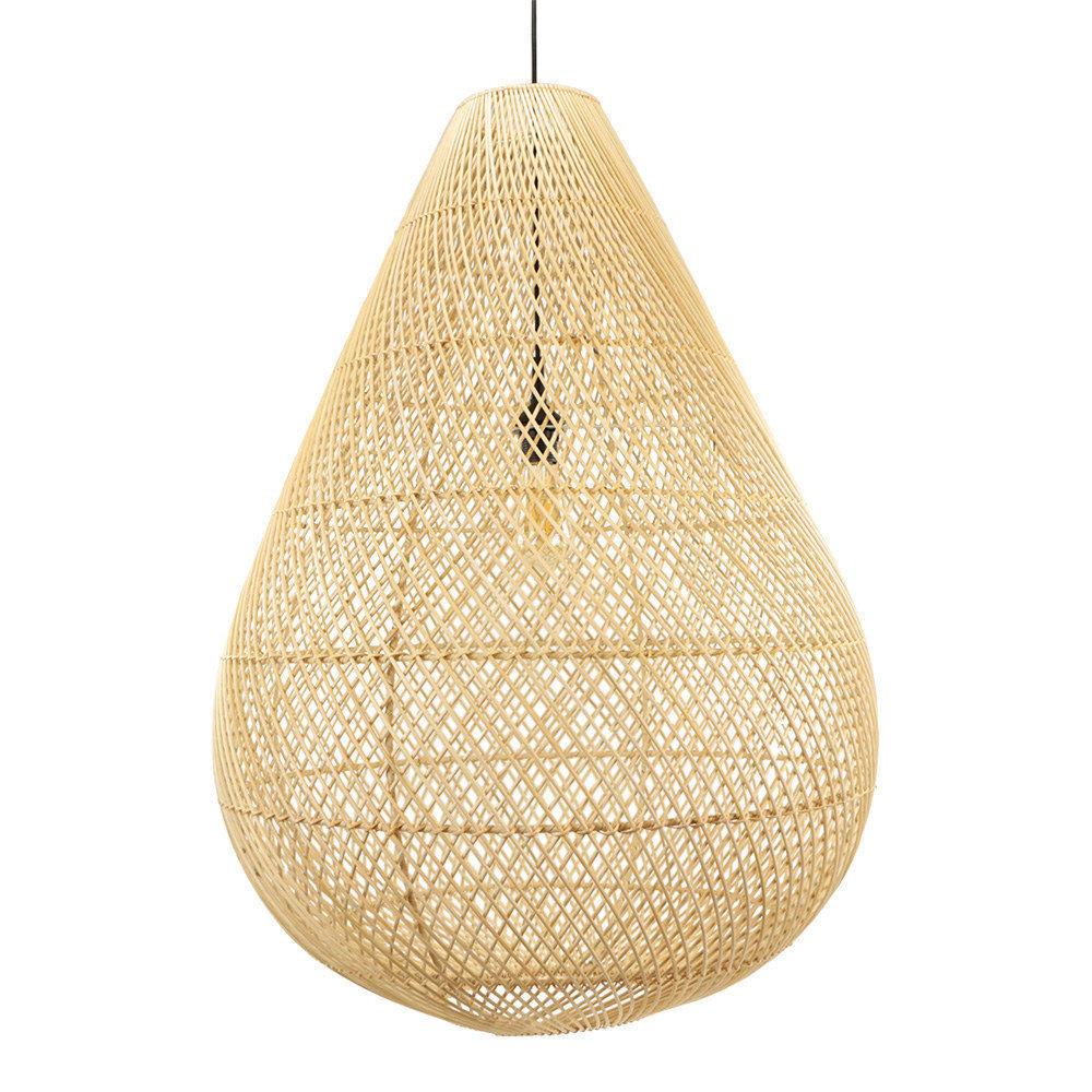 Lamp rotan druppel XXL