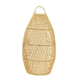 Windlicht bamboe Nusa L
