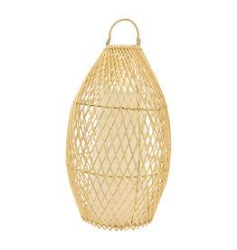 Windlicht bamboe Nusa M