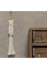 Hanger schelp wit Sita