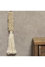 Hanger houten kraal Sun M