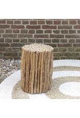 Bijzettafel hout Banyu
