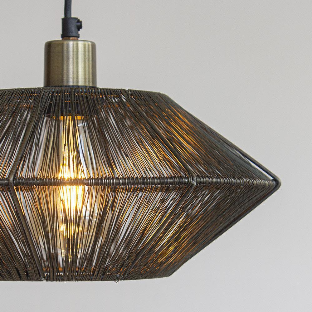 Hanglamp zwart Severo