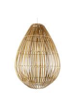 Lamp bamboe Druppel L