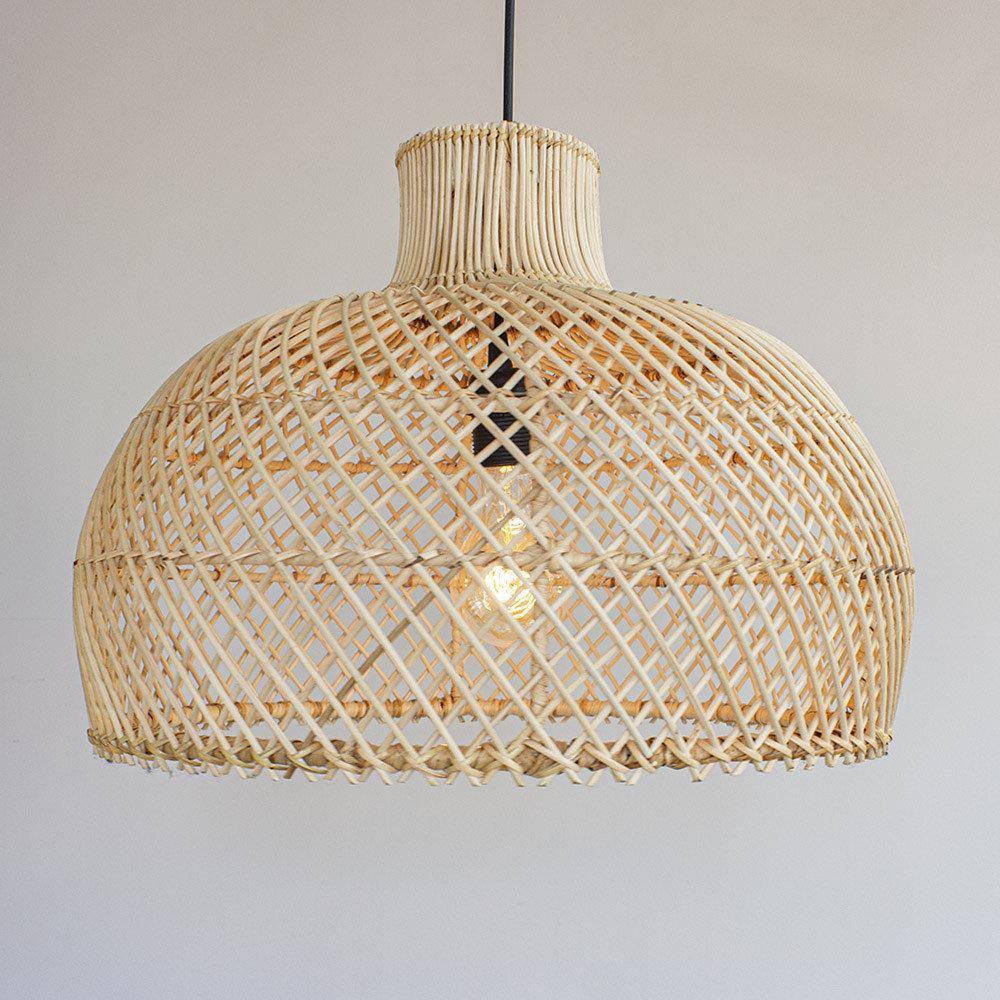 Lamp rotan Debby M