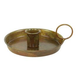 Kandelaar goud Antiek