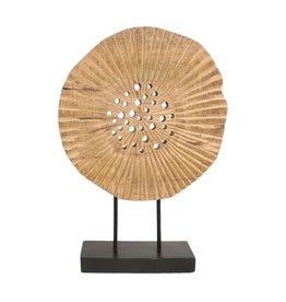 Ornament mangohout Cirkel XL