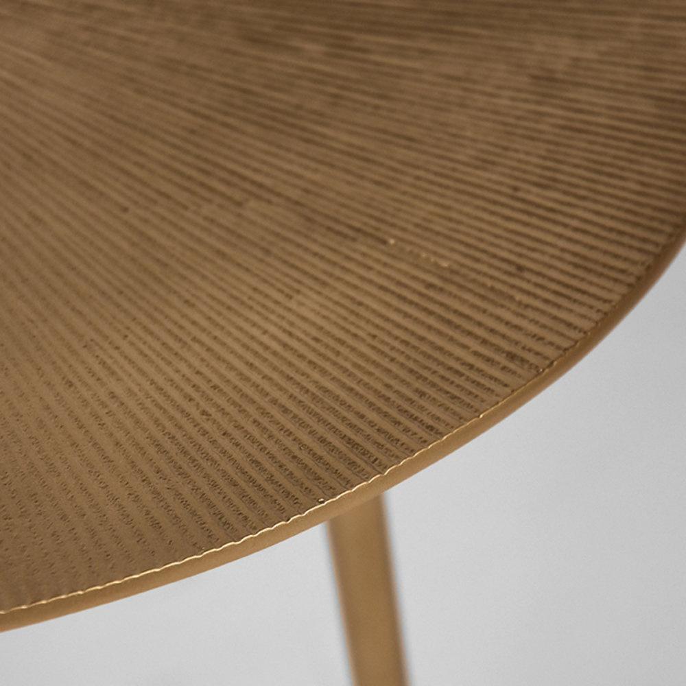 Bijzettafel Nobby - Goud - Metaal - 40 cm