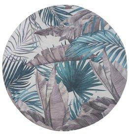 Vloerkleed Palm Green Rond ø120 cm