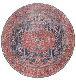 Vloerkleed Heris Red 01 Rond ø120 cm
