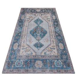 Vloerkleed Karaca Blue 03 - 70 x 140 cm