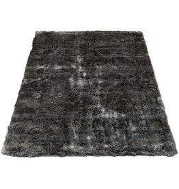 Vloerkleed Donsie Antraciet 160 x 230 cm
