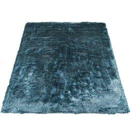 Vloerkleed Donsie Blue 160 x 230 cm