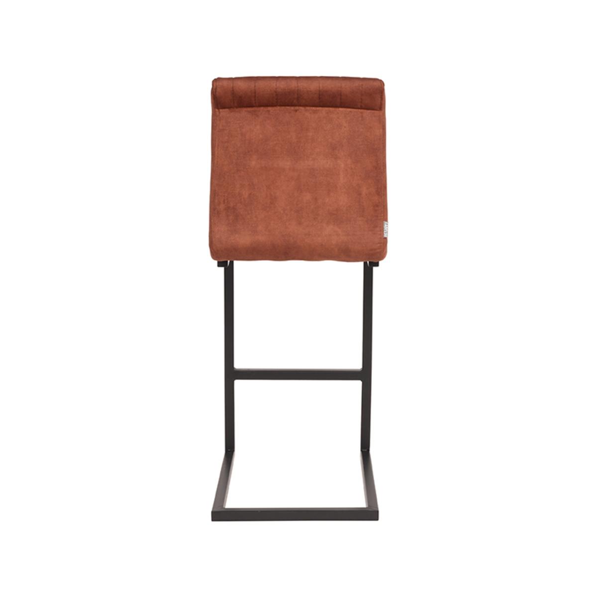 Barkruk Milo - Rust - Velours