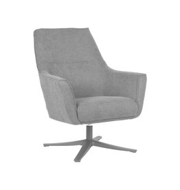 Fauteuil Tod - Antraciet - Weave