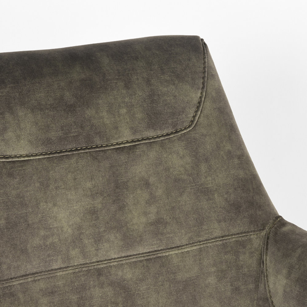 Fauteuil Toby - Hunter - Velours
