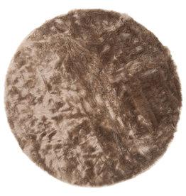 Vloerkleed Donsie Brown Rond ø180 cm