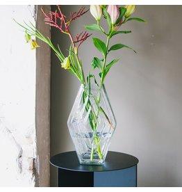 Vase infinite smokey clear