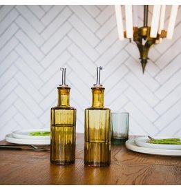 Oil bottle reed 30cl amber