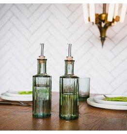 Oil bottle reed 30cl green