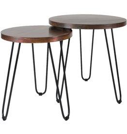 Salontafel Palma - Set van 2 - Copper