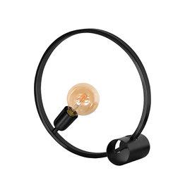 Tafellamp Ring - Zwart - Metaal