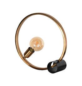 Tafellamp Ring - Goud - Metaal
