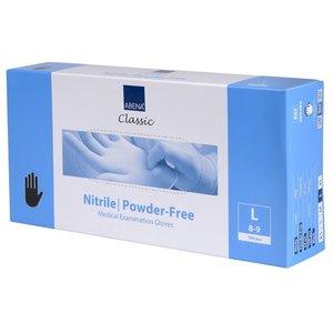 Abena Large Nitrile Gloves Powder Free