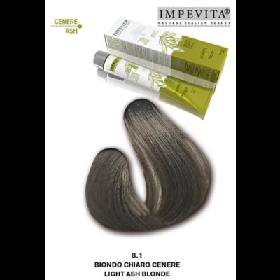Imperity Impevita Haarverf Ammoniak Vrij 8.1 Licht As Blond