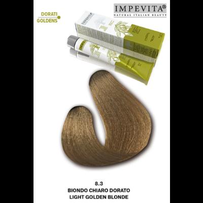 Imperity Impevita Haarverf Ammoniak Vrij 8.3 Licht Goud Blond