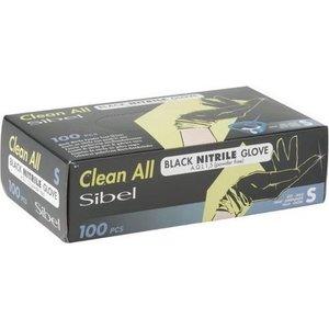 Sibel Nitrile Gloves Black 100 Pieces