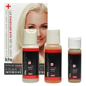 KHS Keratin Hair System Hair Repair System Kit