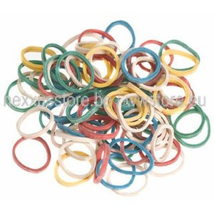 KSF Rubber Bands Mini - Box of 500 Pieces - Colored