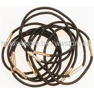 KSF Tail Bands Black - 10 Pieces - 45mm
