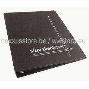 KSF Appointment folder, black A4