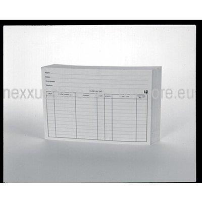 KSF klantenkaarten 100 vellen