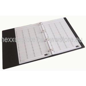 KSF Planmaster Evening filling 6-column, 100 sheets, per 15min