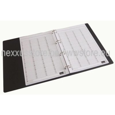 KSF Appointment folder filling 5-column, 100 sheets, per 15min