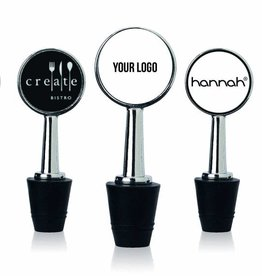 WINECHILL stopper with custom logo