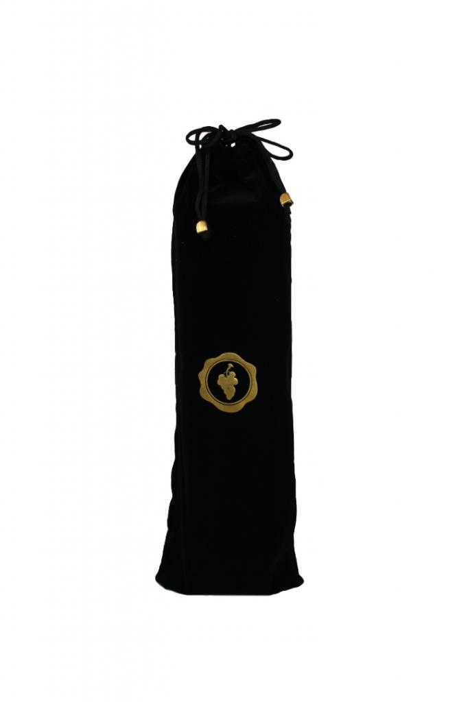 Luxurious velvet gift bag for the WINECHILL