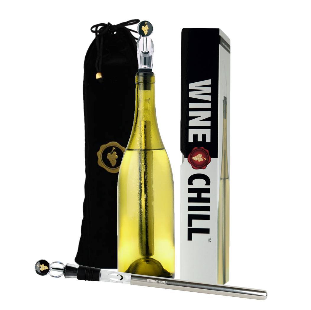 WINECHILL Original 'Good friends. Good wine. Good times!'