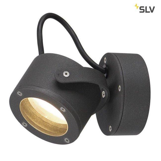 SLV SITRA 360 WL antraciet wandlamp