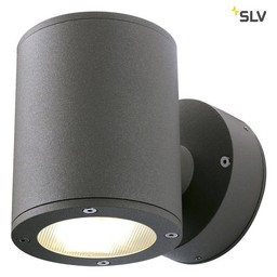 SLV SITRA Up/Down ANTRACIET wandlamp