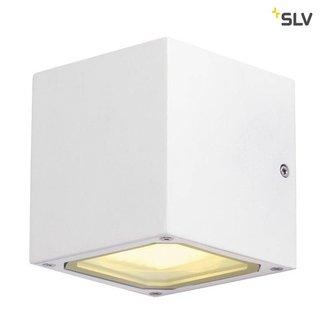 SLV Sitra Cube WIT wandlamp