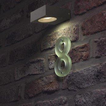 SLV Quadrasyl WL15 antraciet wandlamp