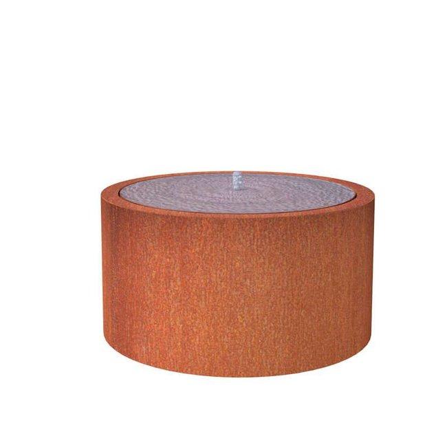Watertafel cortenstaal 145x75 cm