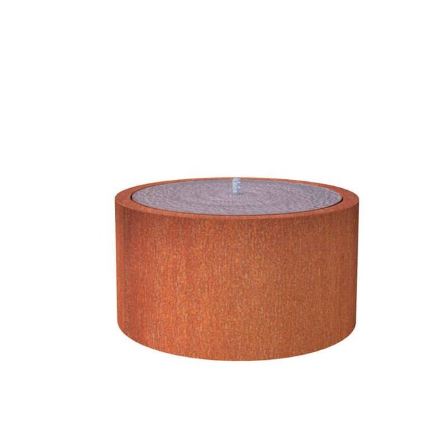 Watertafel cortenstaal 120x75 cm