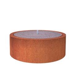 Watertafel cortenstaal 120x40 cm