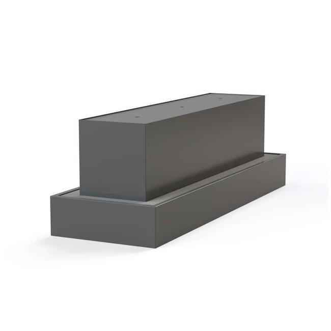 Waterblok aluminium 300 x 70 x 70 cm
